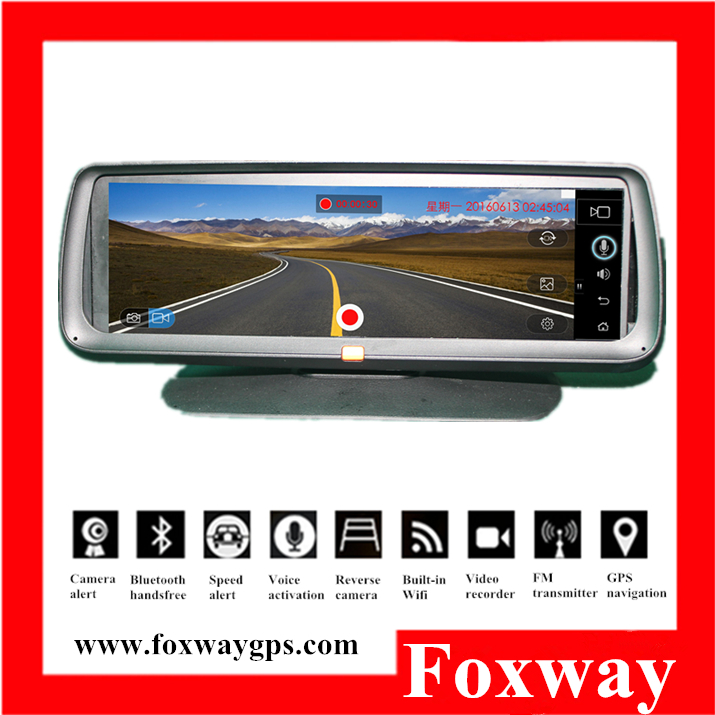 Factory Hot selling cheap price 7Inch car GPS navigation with bluetooth FM transmitter,multimedia player,DVR recorder