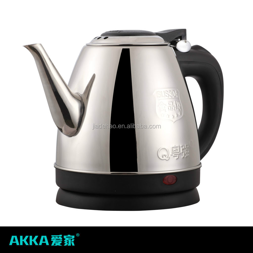 fashion newest 360 degree rotation base electric kettle for hotel and kitchen