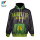 Hot Sale Wind-proof Fabric Sublimation Printing Custom Hoodie