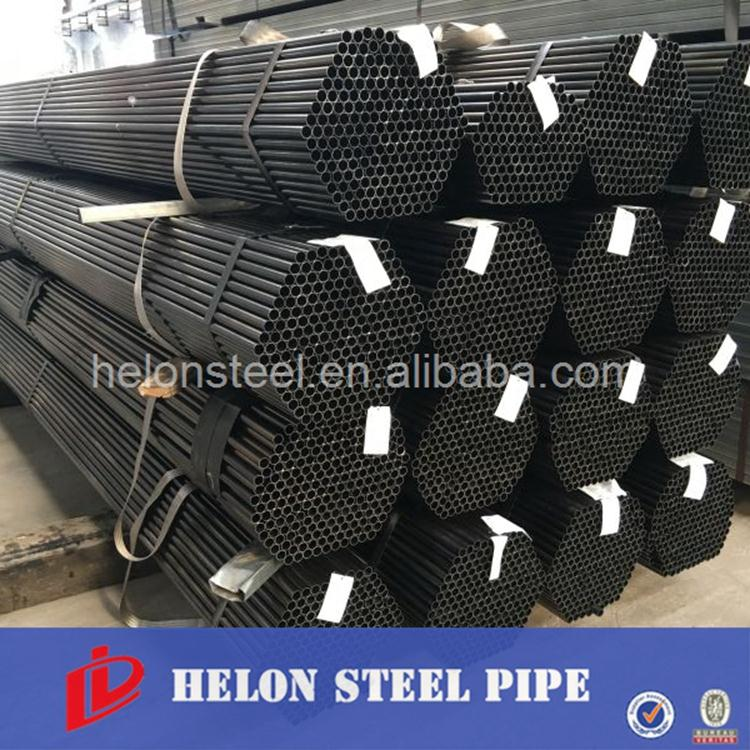 Schedule 80 Black Iron Pipe Q195, Q235, Q345 Building materials