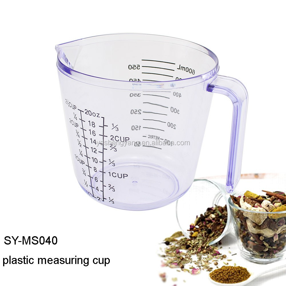 SY-MS040 Most popular Plastic Measuring Cup Tools