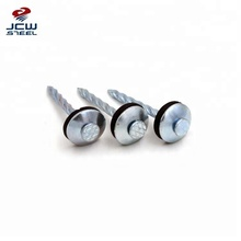 Manufacturer Umbrella Head Roofing Screw Nails With Washer to South America
