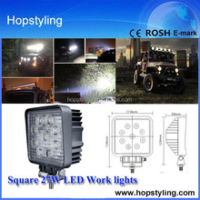 Direct factory offer new 27w car led tuning light/led work light,led work light