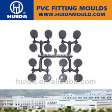 fitting mold PVC pipe cap 16 cavities pressure fitting mold