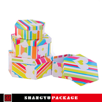 Varnishing pvc window strawberry gift carton