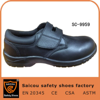 new model leather uniform safety men shoes SC-9959