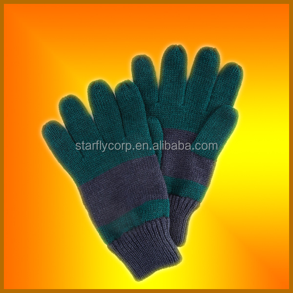 (ST-G311) acrylic cheap personalized military winter gloves
