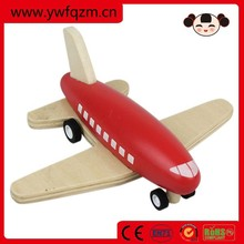 2015 Hot sell new design wooden plane toy for kids