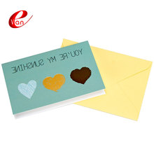 Custom beauty design handmade greeting cards printing
