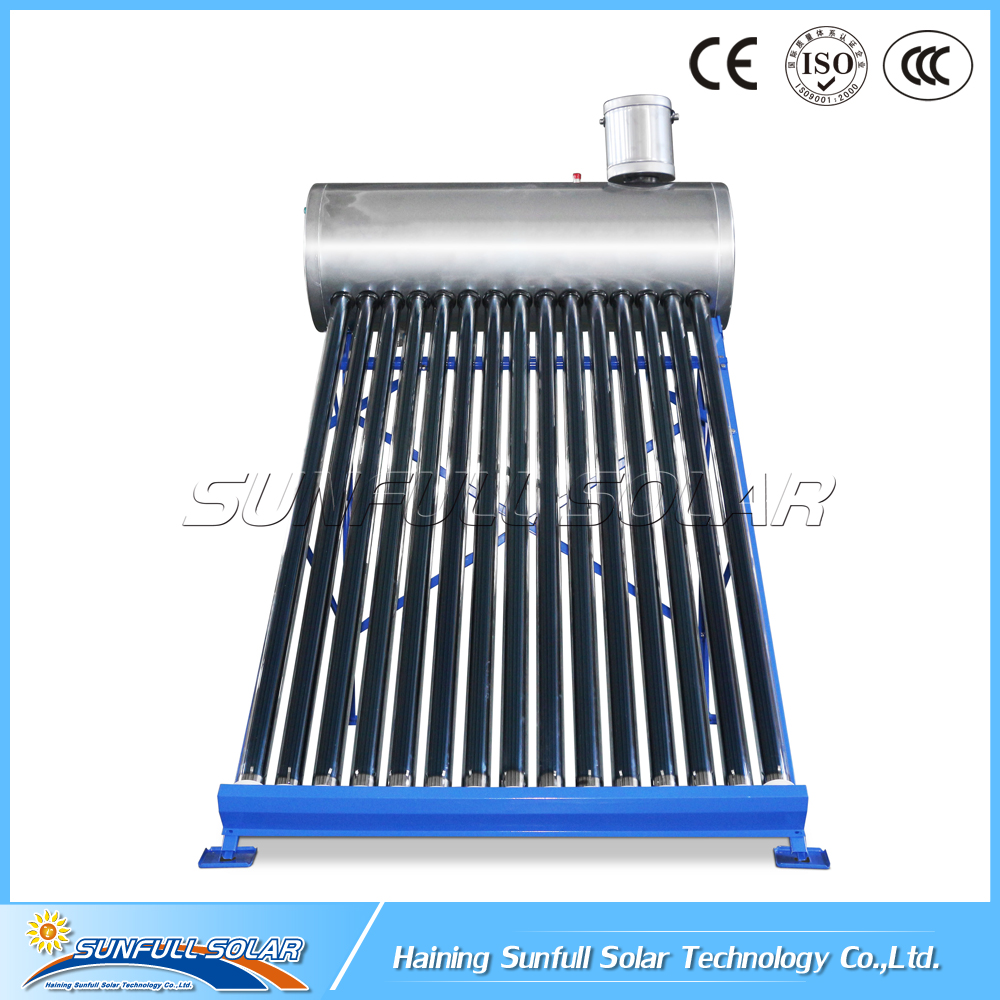 Stainless Steel 150l Solar Water Heater for Pool with 50L Assistant Tank