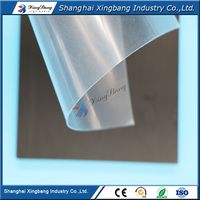 thin white plastic, less than 1mm thickness pvc sheet in rolls