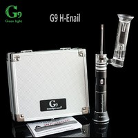Greenlight new invention H enail G9 dry herb vaporizer 2016 wax e cig atomizer portable henail