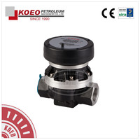 OGM series high accuracy oval gear flowmeter/heavy fuel oil flow meters