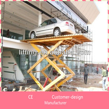 car trailer hydraulic lift