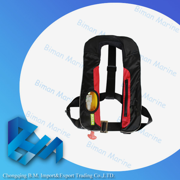 automatic inflatable pvc material YSHES702 life vest