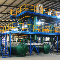 waste oil purification machine 6 tons used oil recycling plant