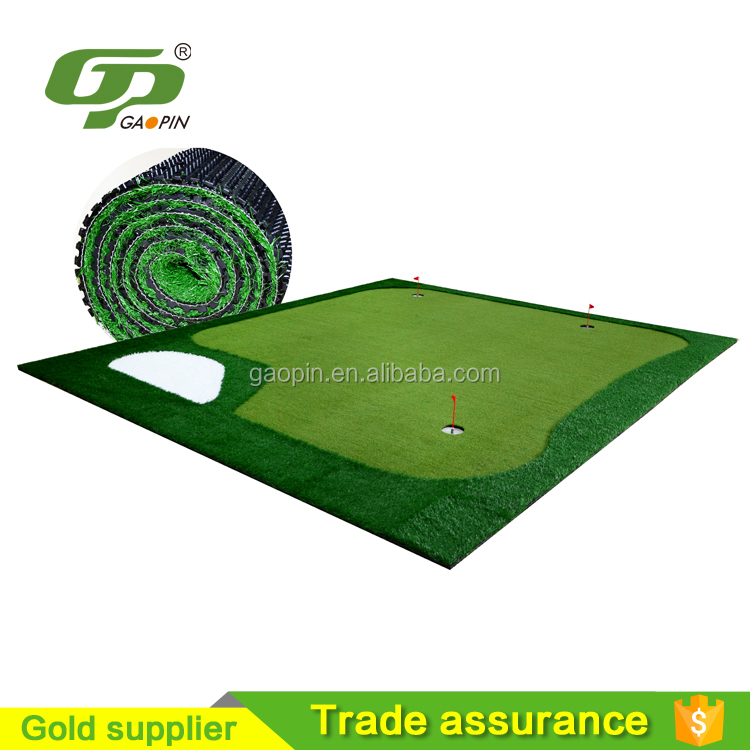 Customized putting green carpet fashion style practice golf putting green carpet