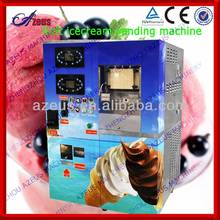 100 Soft ice cream machine maker and vending machine with coin reader and change dispenser