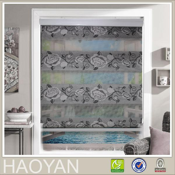China made new fashion jacquard design oriental curtain for window