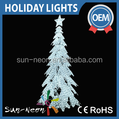 2016 Led Candle Light Giant Christmas Tree Outdoor Lighted Twig Artificial tree