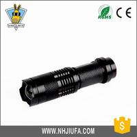 CE ROHS approved Low price led flashlight aluminium led mini flashlight