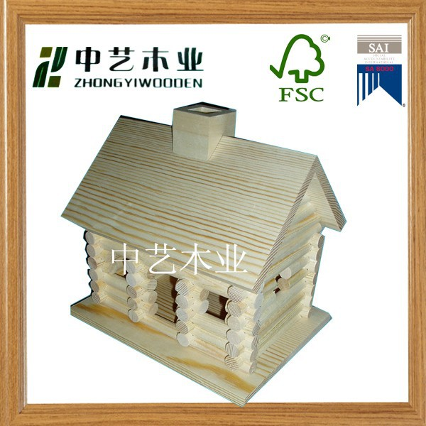 Europe style cheap wooden doll house