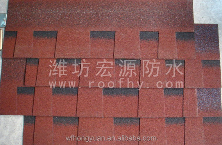 laminated asphalt shingles/fiberglass roof decorations materials/slope roof asphalt roofing tiles