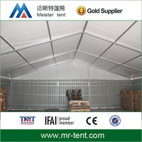 waterproof fireproof warehouse tent temporary storage tent