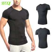 Custom 3D Printing Black Gym Leotards Elastic Breathable Sweatproof Seamless Sports T Shirts
