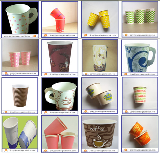 Disposable Coffee Cup Sleeve Paper Cup Cover Hot Coffee Cups