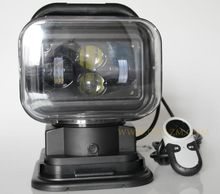 360 degree Rotating 60W Led Remote Control Search Light For Jeep And Other Off-road Vehicles or Trucks Boat