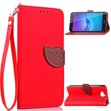For Huawei Y5 Y6 case, with Credit Card Wallet Stand Flip leather case for Huawei Y5 Y6 mobile phone cover