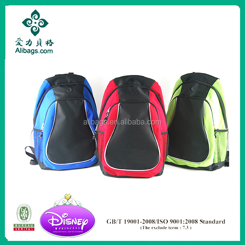 2017 new design wholesale child backpack kids school bags