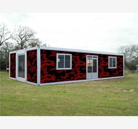 steel frame mobile units  malaysia 40ft collapsible container houses