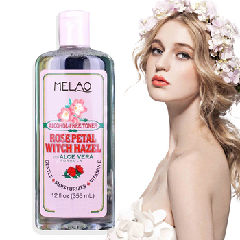 Hotselling rose water skin toner For skin care GENTLE +MOISTURIZES+VITAMINE ROSE PETAL WITCH HAZEL