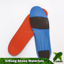 Shock absorbing massage PU insole GEL insole for safety shoes