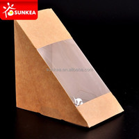 High quality and image custom made paper sandwich box