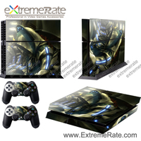high quality prevent scratch skin sticker for ps4 console skin supply free sample