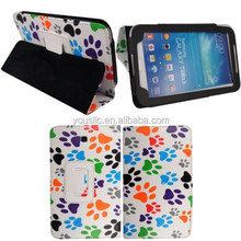 PRINTED LEATHER CASE ,MAGNETIC WALLET LEATHER CASE FOR SAMSUNG GALAXY NOTE 8.0 N5100