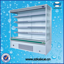 Vertical Fruit Chiller Display with built-in compressor