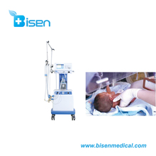 Operating Room Infant Cpap System New Born Baby Ventilator Built-In Air And Oxygen Blender
