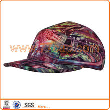2013 fashion hats sublimation multi-panel snapback cap