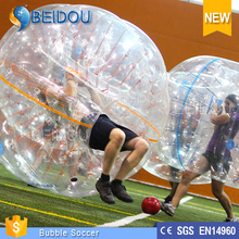 2015 Amazing Sport Newly Style 1.0mm PVC and TPU Inflatable Bumper Ball for Rent/Sale