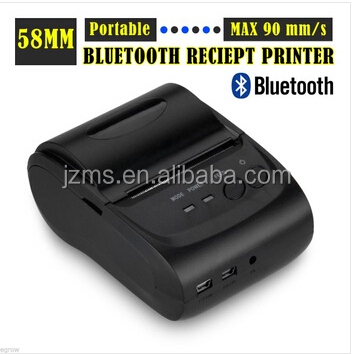 58mm wireless bluetooth printer pos thermal receipt printer barcode label printer cheap price MS-5802LD/DD