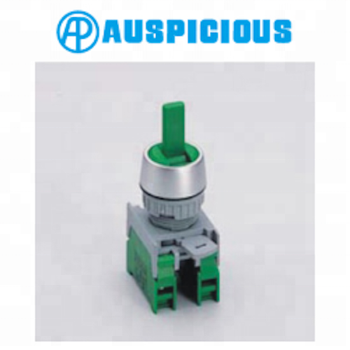22mm Changeover Switch 3 Position Spring Return Selector Switch, IP65 (GLUS223)