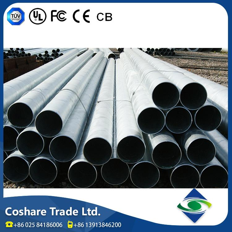 COSHARE- Factory price High praise rate carbon welded spiral steel pipe