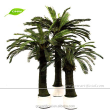 GNW APM045 miniature plastic palm tree use for home and garden decoration