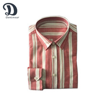 2017 men clothing Fashion Classic Striped Men Dress Shirts Long Sleeve Plus Size Business Formal Shirts