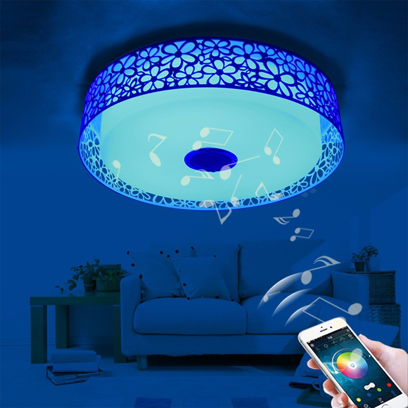 Hot selling rgb led ceiling light music control ceiling light group control indoor lamp