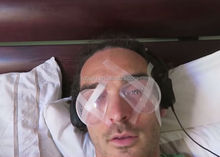 medical plastic eye shields after eye surgery